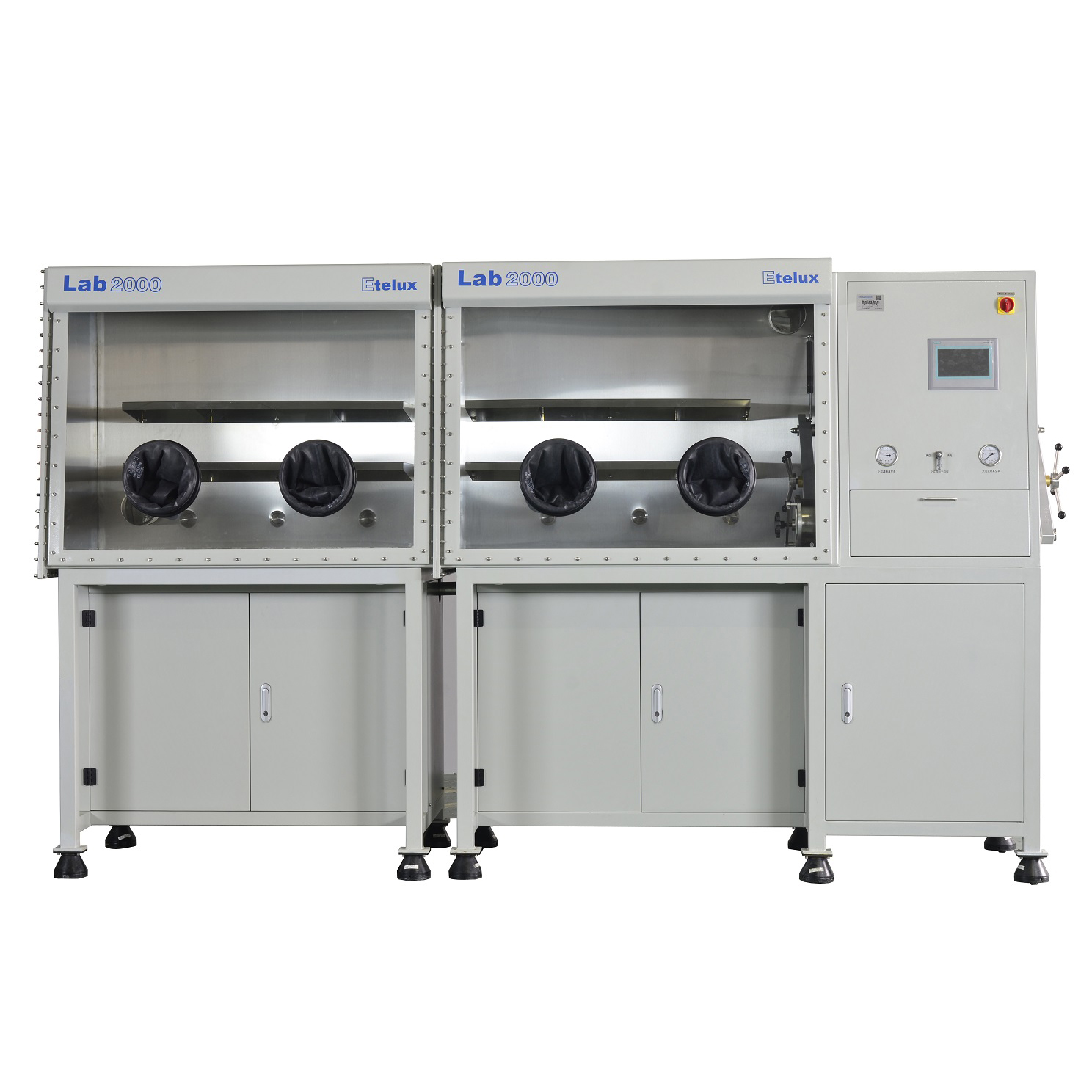 Custom  Single-Side  2400mm Glovebox