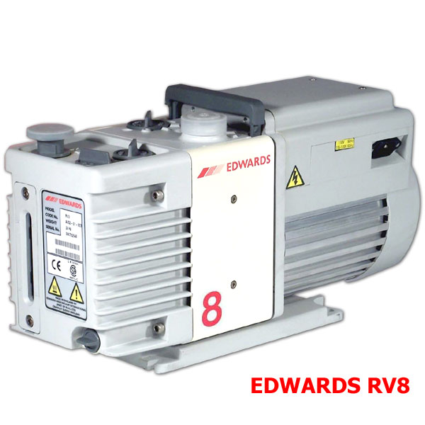 Edwards Vacuum Pump  RV8 115/230V,1-ph,50/60Hz